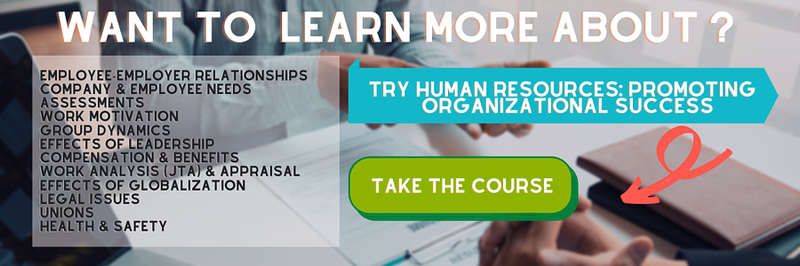 Want to learn more about human resources