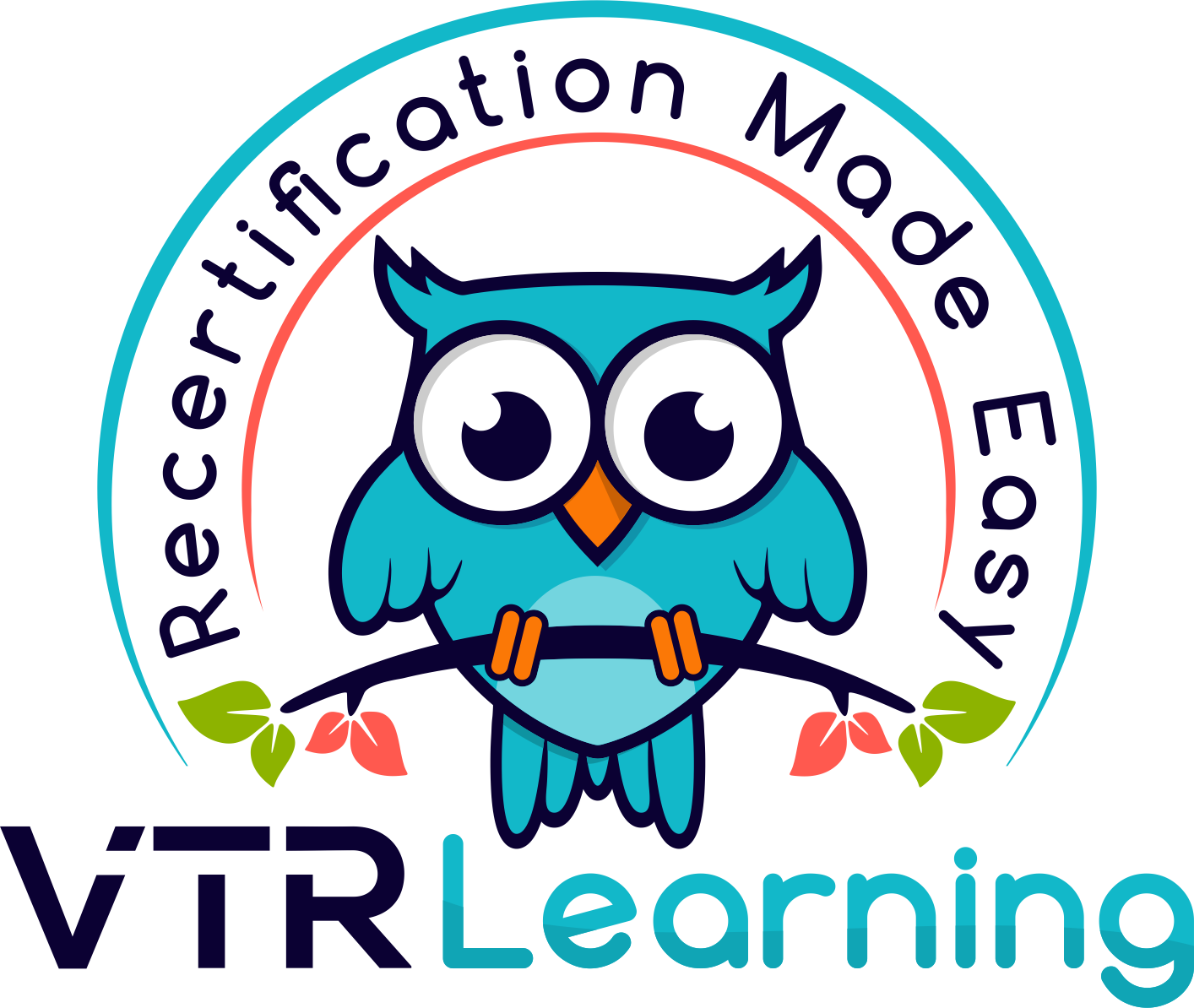 VTR Learning Logo with tagline